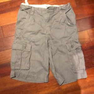 Boys size 10 shorts with adjustable waist